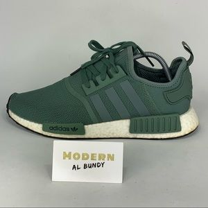 "Adidas NMD_R1 ""Army Green"" Running Shoes Mens 10"